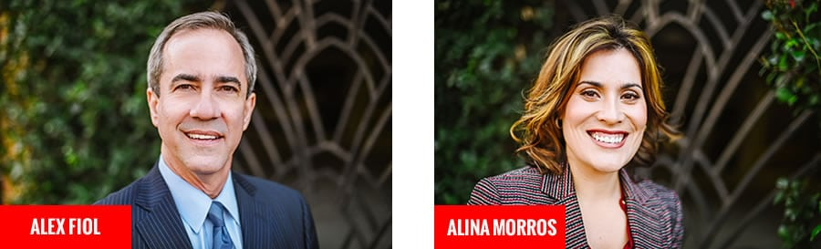 Alex Fiol & Alina Morros - Top rated personal injury lawyers in Tampa